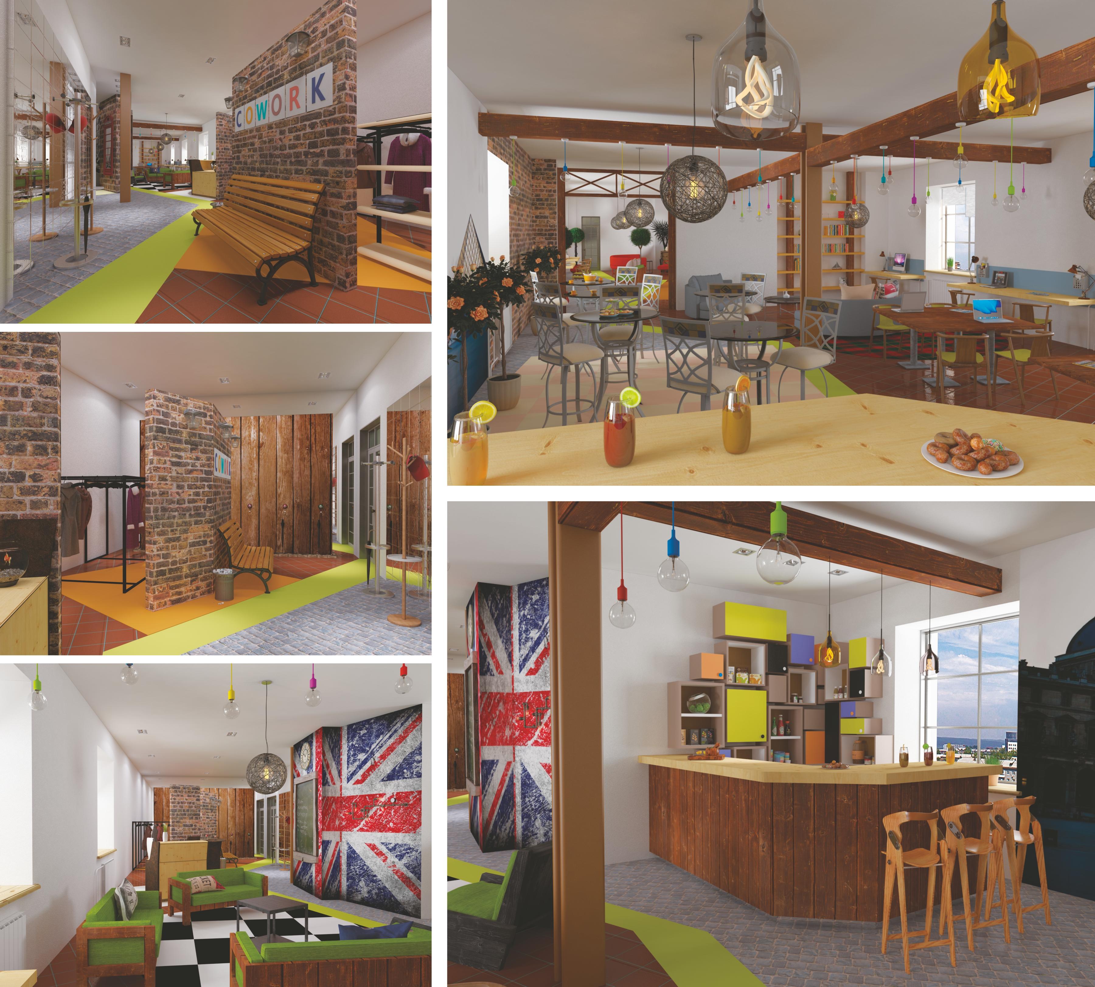 Замечательные дизайн-проекты офисов для коворкинга