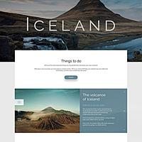 Landing Page - Iceland