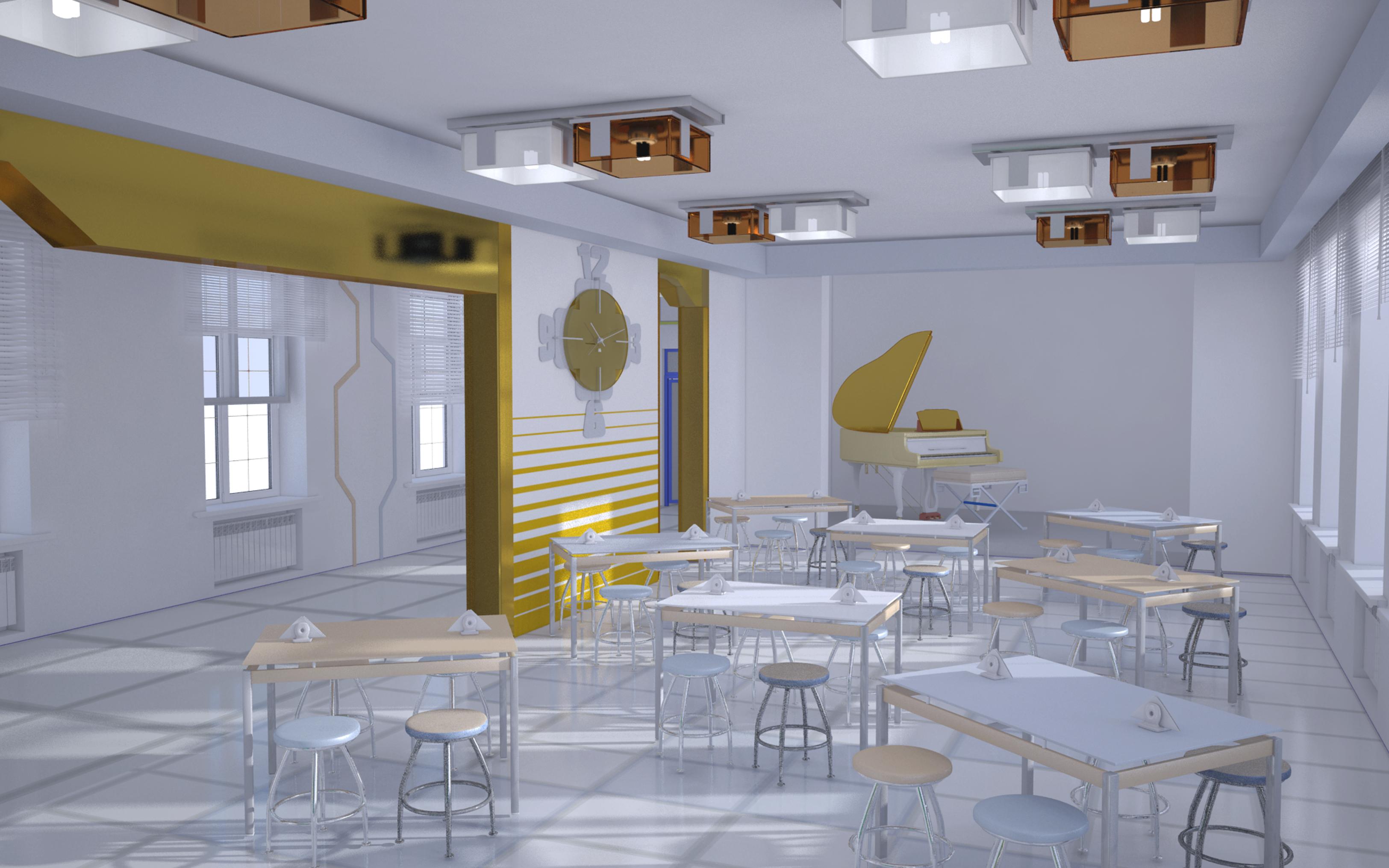 Дипломный проект по реконструкции исторического здания опытной  Дипломный проект по реконструкции исторического здания опытной школы НАРКОМПРОСА и прилегающей территории в стиле конструктивизма