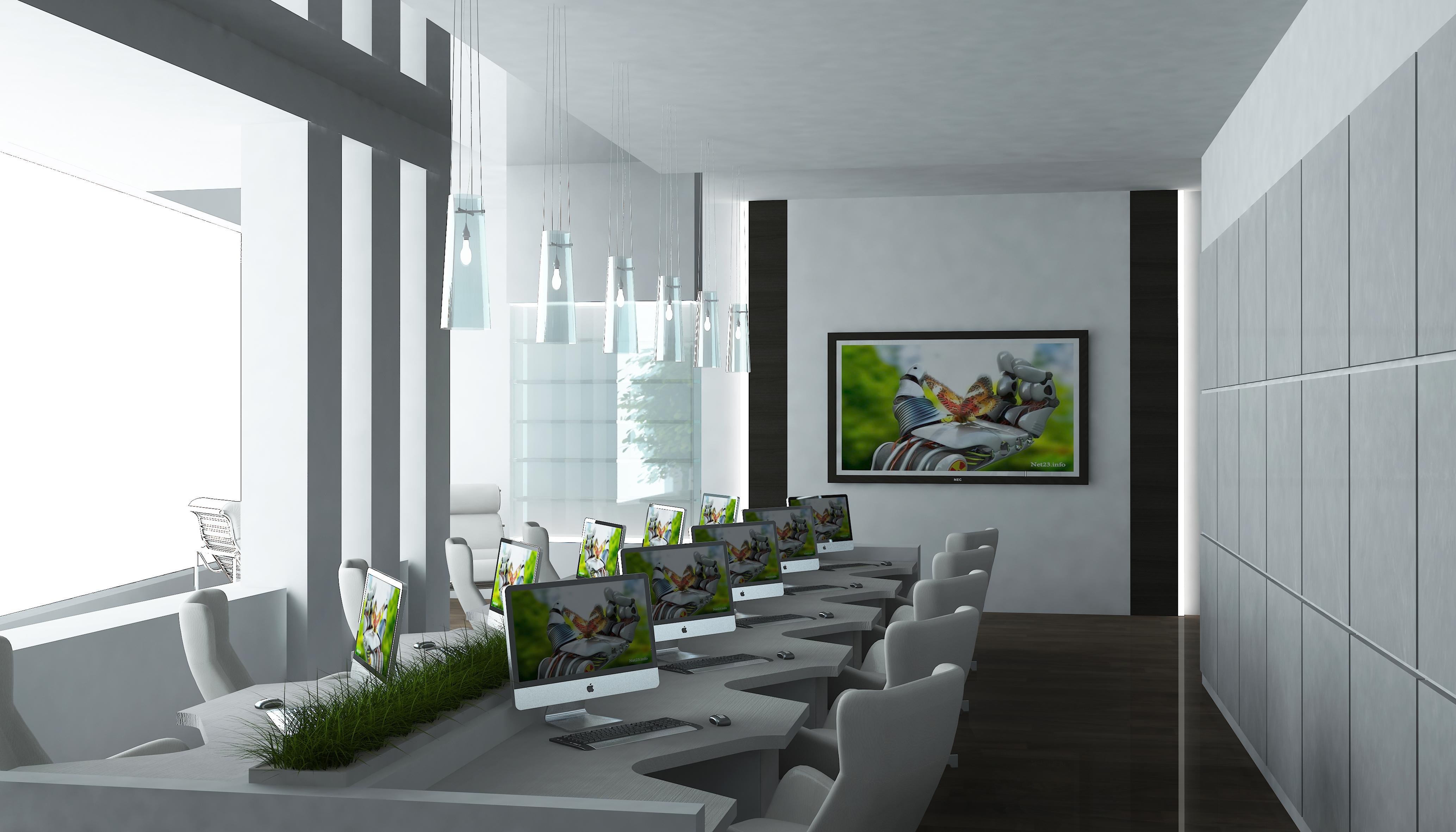 Фото дизайна интерьера офиса – InMyRoom ru
