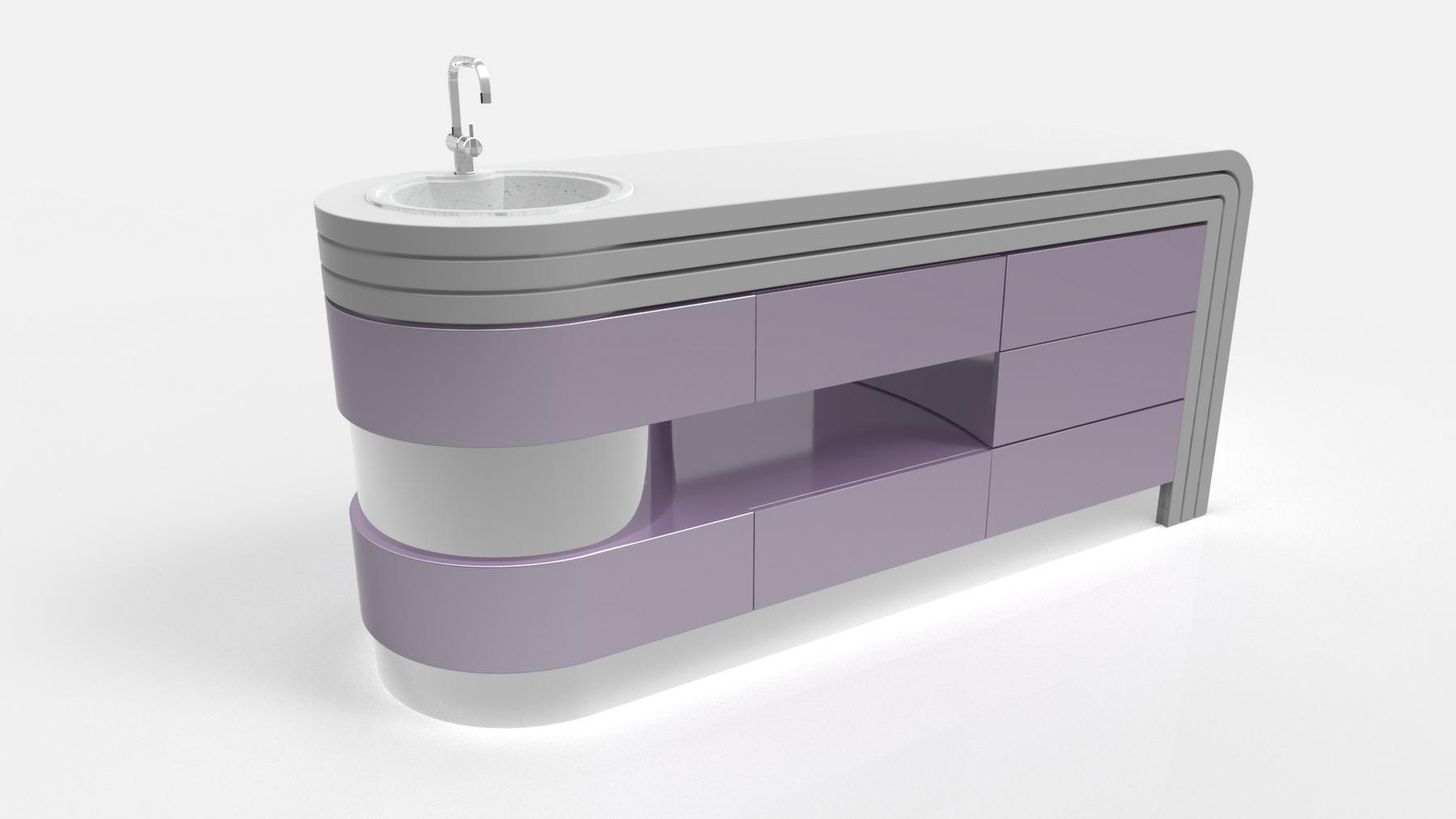 Фото красивого и функционального оформления интерьера кухни.мебель трансформер для кухни