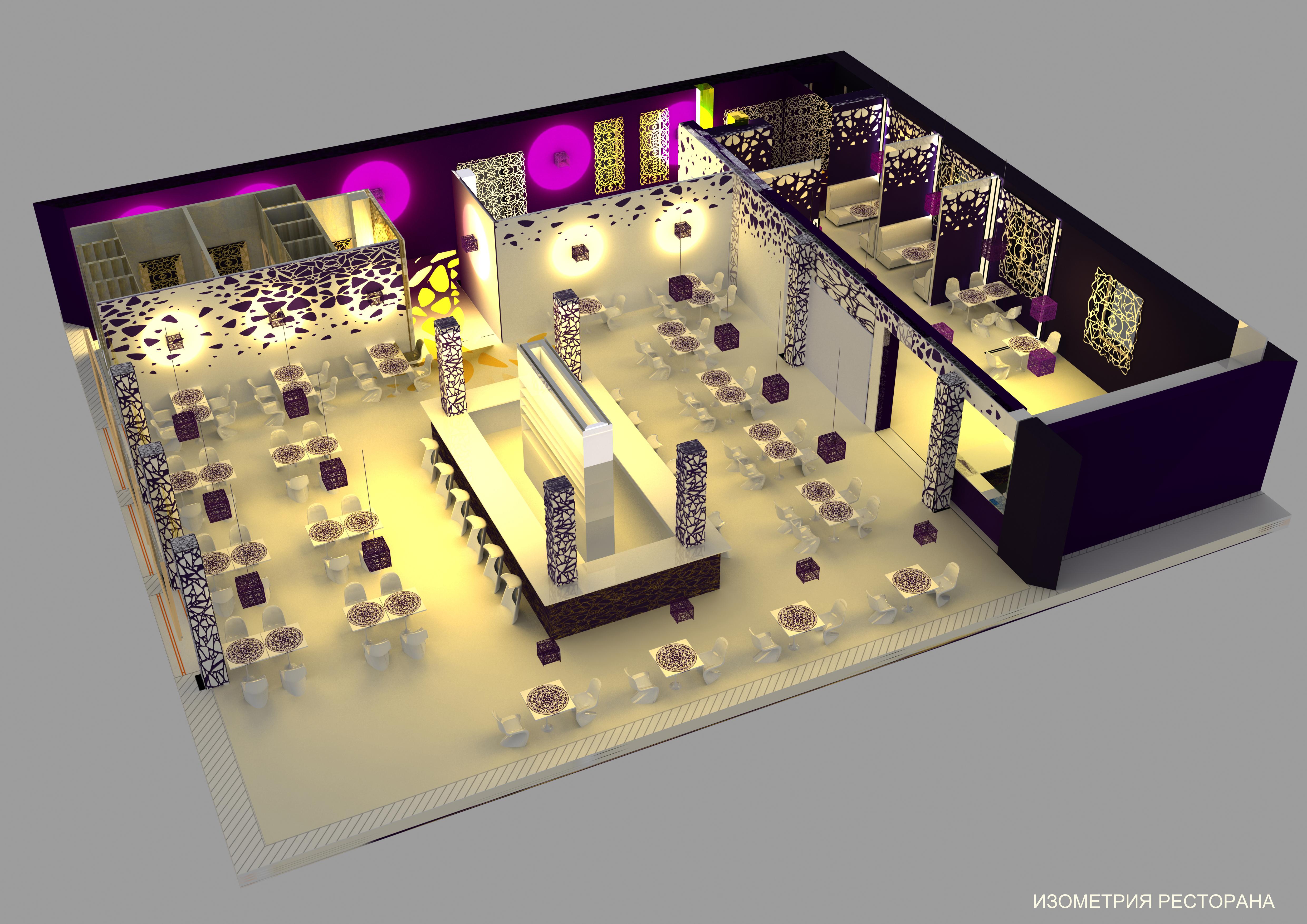 Проект дизайну ресторану